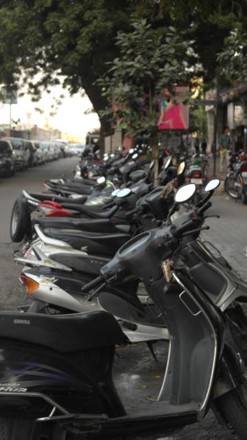 India has an estimated 120 million bikes